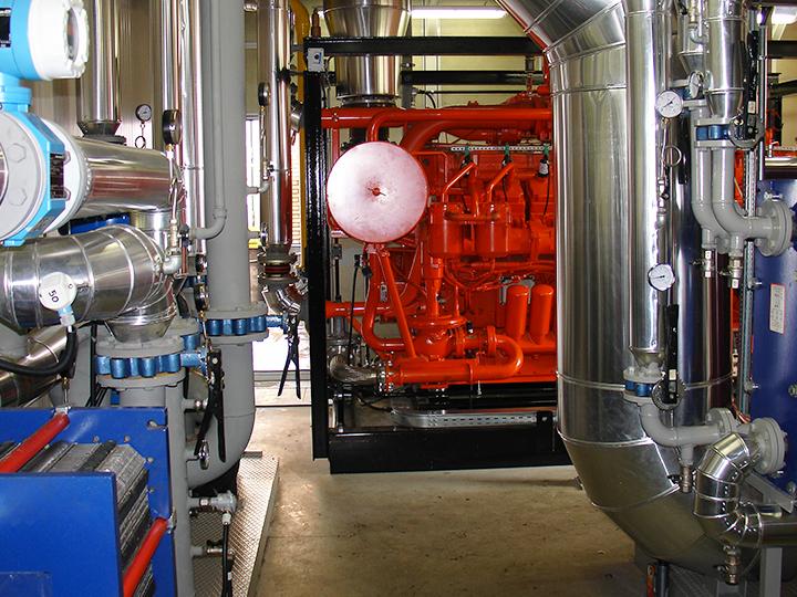 Impianto di cogenerazione in una azienda plastica in provincia di Lodi