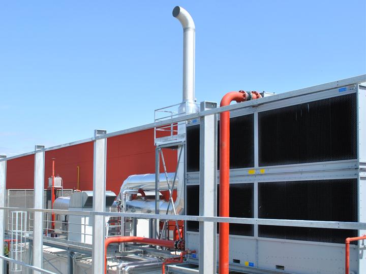 Impianto di trigenerazione in una azienda plastica in provincia di Padova
